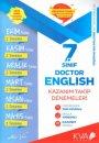 7. Sınıf Doctor English Kazanım Takip Denemeleri KVA Yayınları
