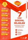 7. Sınıf Sosyal Bilgiler Kazanım Takip Denemeleri KVA Yayınları