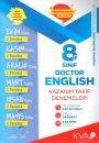 8. Sınıf Doctor English Kazanım Takip Denemeleri KVA Yayınları