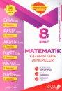 8. Sınıf Matematik Kazanım Takip Denemeleri KVA Yayınları