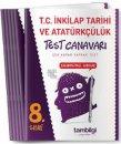 8. Sınıf T. C. İnkılap Tarihi ve Atatürkçülük Yaprak Test Tambilgi Yayınları