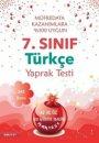 7. Sınıf Türkçe Yaprak Test Nartest Yayınları