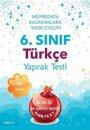 6. Sınıf Türkçe Yaprak Test Nartest Yayınları