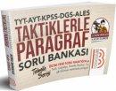 2019 TYT-AYT-KPSS-DGS-ALES Taktiklerle Paragraf Soru Bankası Kadir Gümüş Benim Hocam Yayınları