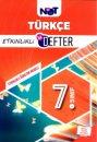 7. Sınıf Türkçe Etkinlikli Bi Defter BiNot Yayınları