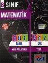 8. Sınıf Matematik Tut Sakla Çek Çöz Açı Yayınları