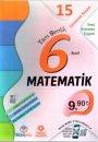 6. Sınıf Tam Benlik Matematik 15 Deneme Sınavı Optikli Örnek Akademi Yayınları