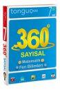 7. Sınıf 360 Derece Sayısal Soru Bankası Matematik Fen Bilimleri Tonguç Akademi Yayınları