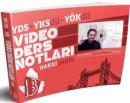 YDS YKSDİL YÖKDİL Video Ders Notları Hakkı Şahin Benim Hocam Yayınları