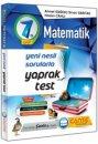 7. Sınıf Matematik Yaprak Test Çanta Yayınları