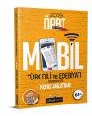 2019 ÖABT Türk Dili ve Edebiyatı Öğretmenliği Mobil Konu Anlatımı Beyaz Kalem Yayınları