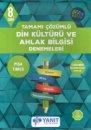 8. Sınıf Tamamı Çözümlü Din Kültürü ve Ahlak Bilgisi Denemeleri Yanıt Yayınları