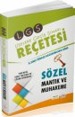 LGS Reçetesi Sözel Mantık ve Muhakeme Editör Yayınları