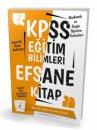 2019 KPSS Eğitim Bilimleri Efsane Tek Kitap Konu Anlatımlı Pelikan Yayınları