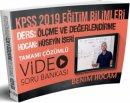 2019 Eğitim Bilimleri Ölçme ve Değerlendirme Video Soru Bankası Hüseyin İşeri Benim Hocam Yayınları