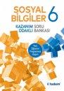 6. Sınıf Sosyal Bilgiler Kazanım Odaklı Soru Bankası Tudem Yayınları