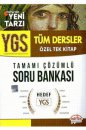 YGS Tüm Dersler Tamamı Çözümlü Soru Bankası Özel Tek Kitap Editör Yayınevi*
