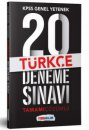 2019 KPSS Genel Yetenek Türkçe Tamamı Çözümlü  20 Deneme Sınavı Yediiklim Yayınları