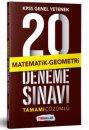 2019 KPSS  Genel Yetenek Matematik Tamamı Çözümlü  20 Deneme Sınavı Yediiklim Yayınları