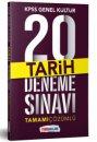 2019 KPSS Genel Kültür Tarih Tamamı Çözümlü  20 Deneme Sınavı Yediiklim Yayınları