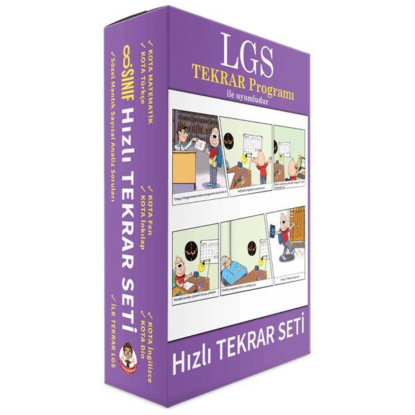 LGS Hızlı Tekrar Seti Tonguç Akademi