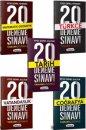 2019 KPSS Genel Yetenek Genel Kültür Tamamı Çözümlü 20 Deneme Sınavı Seti Yediiklim Yayınları