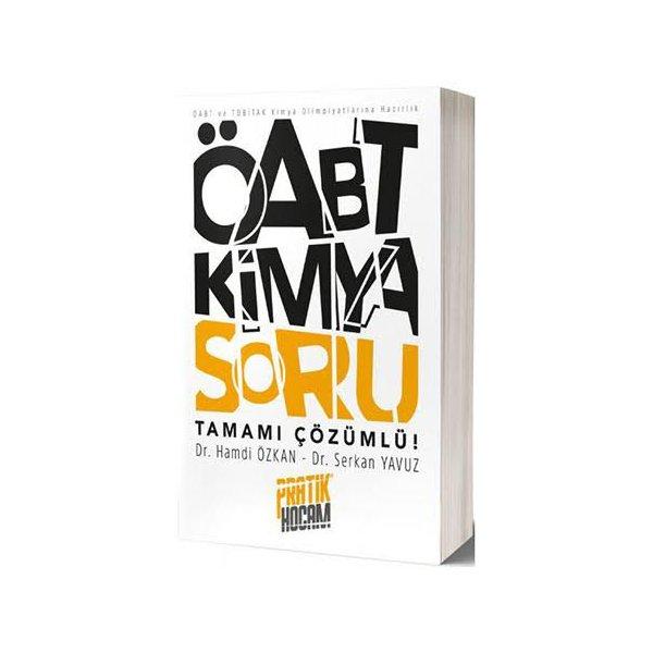 ÖABT Orbital Kimya Tamamı Çözümlü Soru Bankası Pratik Hocam Yayınları