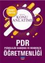 2019 ÖABT PDR Psikolojik Danışma ve Rehberlik Öğretmenliği Detaylı Konu Anlatımı Nobel Sınav Yayınları