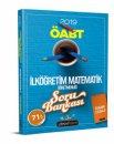 2019 ÖABT İlköğretim Matematik Öğretmenliği Soru Bankası Beyaz Kalem Yayınları