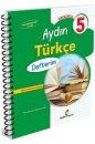5. Sınıf Aydın Türkçe Defterim Aydın Yayınları
