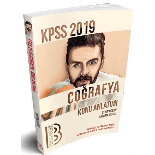 2019 KPSS Coğrafya Konu Anlatımı Bayram Meral Benim Hocam Yayınları
