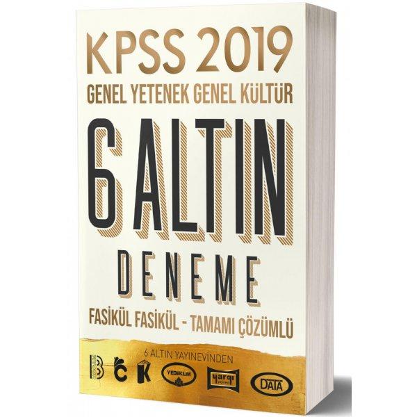 2019 KPSS Genel Yetenek Genel Kültür 6 ALTIN Çözümlü Fasikül Deneme Benim Hocam Yayınları