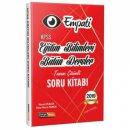 2019 KPSS Eğitim Bilimleri Empati Bütün Dersler Tamamı Çözümlü Soru Kitabı Kariyer Meslek Yayınları