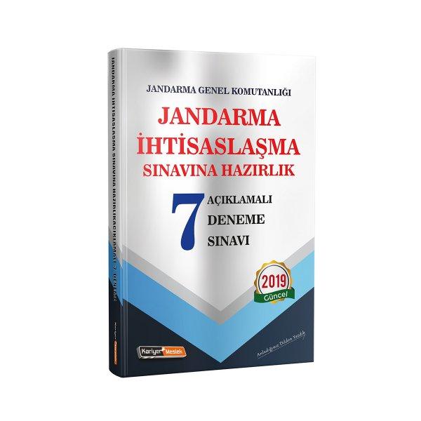 Jandarma İhtisaslaşma Sınavlarına Hazırlık Açıklamalı 7 Deneme Sınavı Kariyer Meslek Yayınları