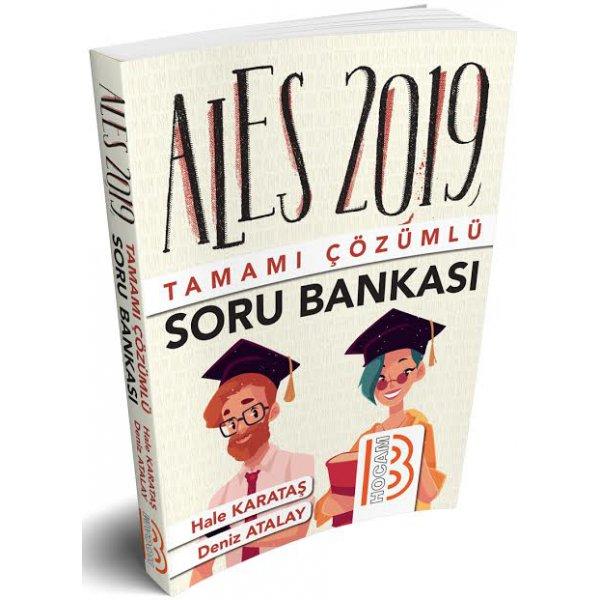 2019 ALES Tamamı Çözümlü Soru Bankası Benim Hocam Yayınları