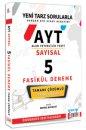 AYT Sayısal Tamamı Çözümlü 5 Fasikül Deneme Yargı Lemma Yayınları