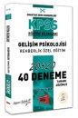 2019 KPSS Eğitim Bilimleri Gelişim Psikolojisi, Rehberlik Özel Eğitim Tamamı Çözümlü 40 Deneme Yargı Yayınları