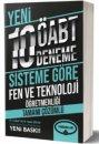 2019 ÖABT Fen ve Teknoloji Öğretmenliği Tamamı Çözümlü 10 Deneme Yediiklim Yayınları