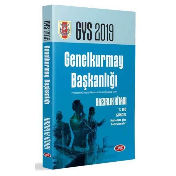 2019 GYS Genelkurmay Başkanlığı Görevde Yükselme Sınavı Hazırlık Kitabı Data Yayınları