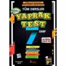 7. Sınıf Tüm Dersler Yaprak Test Seans Yayınları