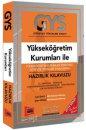 GYS Yükseköğretim Kurumları Personeli Görevde Yükselme Sınavlarına Hazırlık Kılavuzu Yargı Yayınları