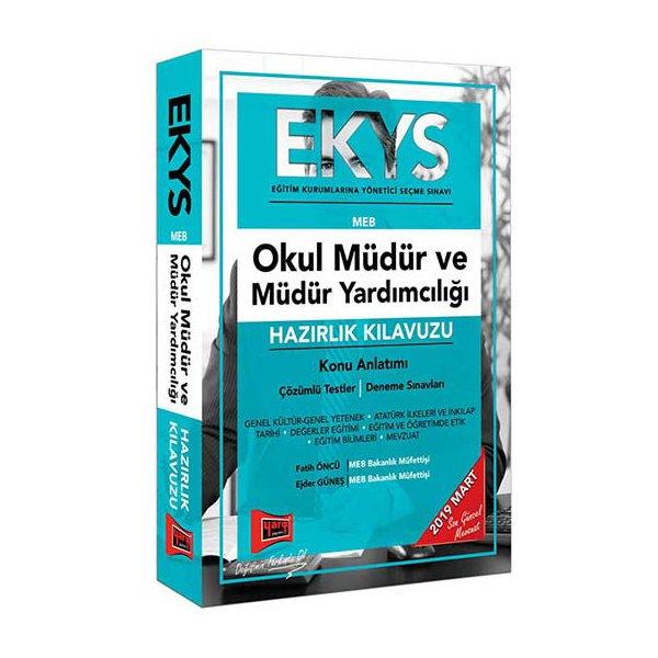 EKYS MEB Okul Müdür ve Müdür Yardımcılığı Hazırlık Kılavuzu Yargı Yayınları