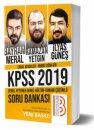 2019 KPSS Genel Yetenek Genel Kültür Tamamı Çözümlü Soru Bankası Benim Hocam Yayınları