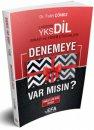 YKSDİL 5 Deneme Sınavı ve Video Çözümleri EFA SERİSİ Fatih Çömez Benim Hocam Yayınları