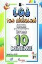 8. Sınıf LGS Fen Bilimleri 10 Branş Deneme Seans Yayınları