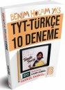 YKS-TYT Türkçe 10 Deneme Kadir Gümüş Benim Hocam Yayınları