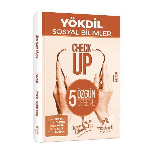YÖKDİL Sosyal Bilimler Check Up 5 Özgün Deneme Modadil Yayınları