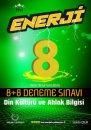 8. Sınıf Din Kültürü ve Ahlak Bilgisi Enerji 8+8 Deneme SınavıPalme Yayınları