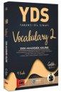 YDS Vocabulary 2 3500 Akademik Kelime Yargı Yayınları