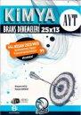 Bilgi Sarmal AYT Kimya 25 x 13 Evdekal Denemeleri